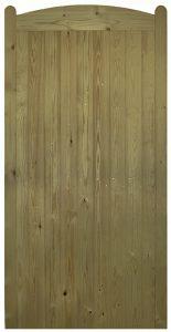 Wellow-Tall-Wooden-Side-Gate